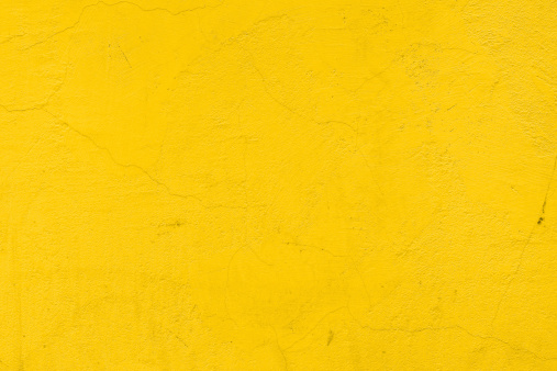 background of a plain yellow wall