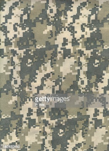 Background of advanced combat uniform camouflage pattern