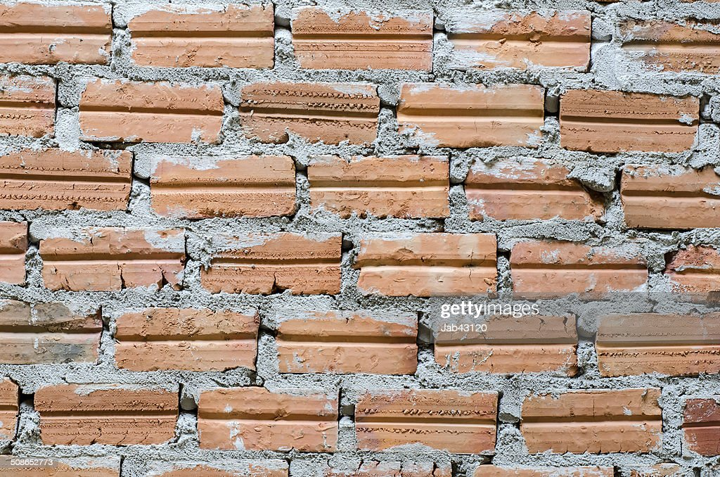 Background of brick wall texture : Stock Photo