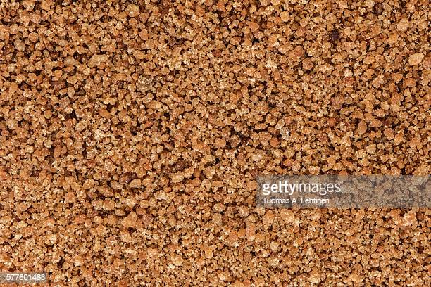 Background of brown coconut palm sugar