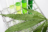 Background of Cannabis (Drugs), Analysis of Cannabis in laboratory.