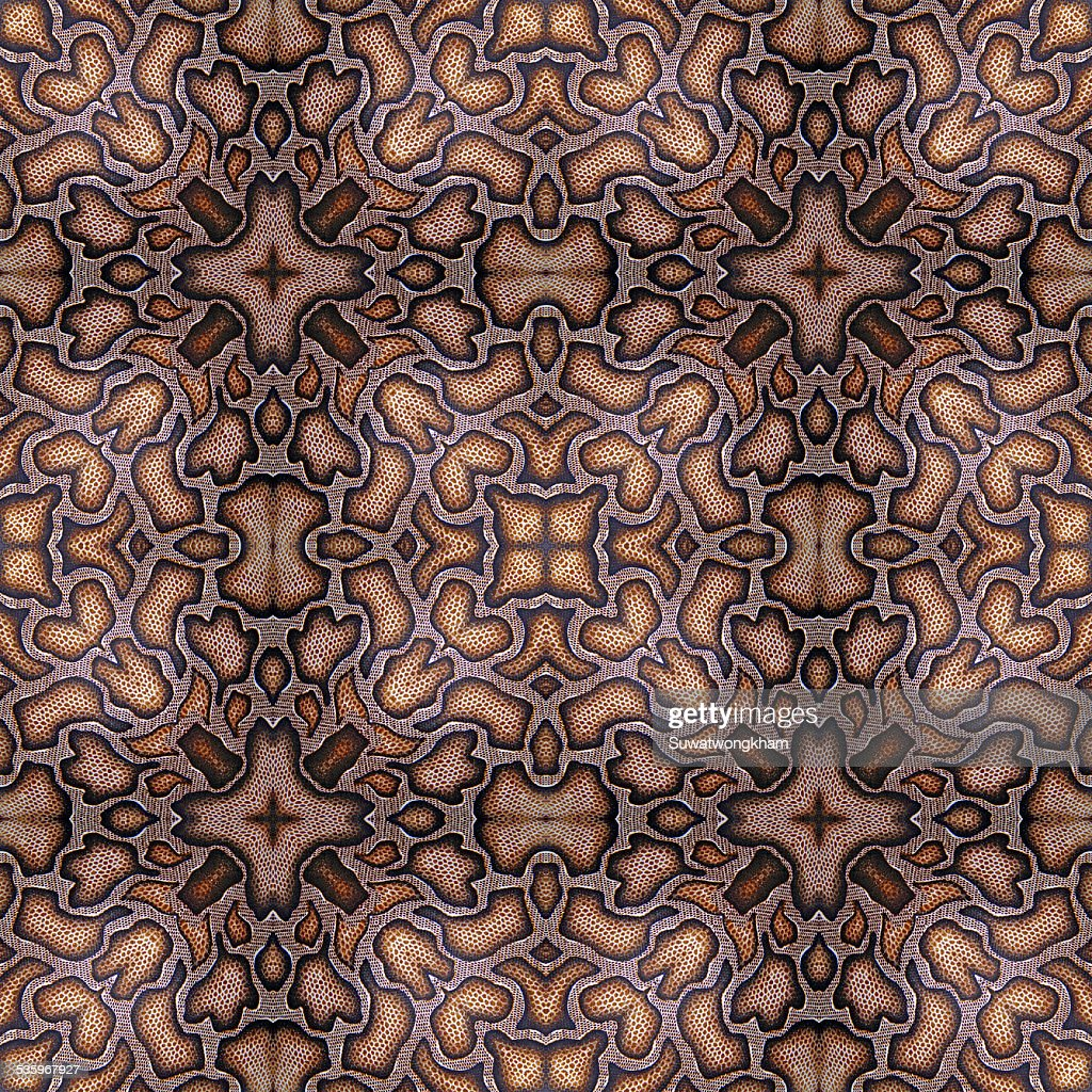 Background of Thai style fabric pattern : Stock Photo