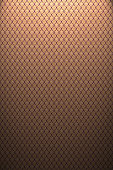 Background of Thai style fabric pattern with golden