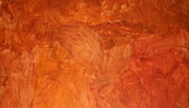 Background of weathered orange wall