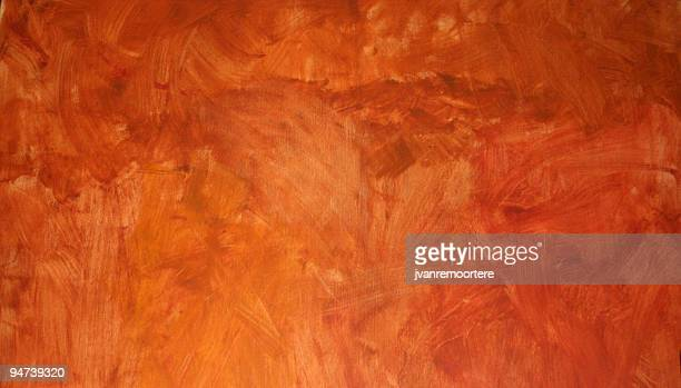 Background of weathered orange wall