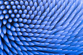 Abstract loot at toothpick pack, macro shoot. Great as background pattern.