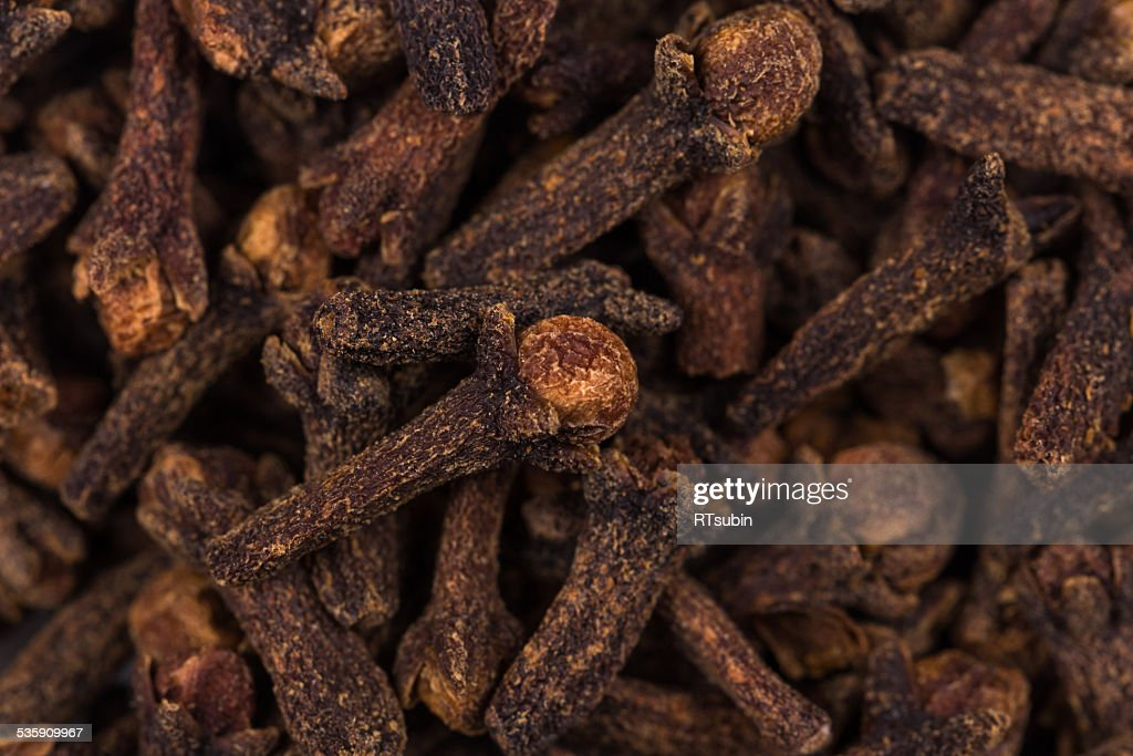 Background - seed cloves : Stock Photo