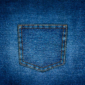 background simple denim with pocket close-up