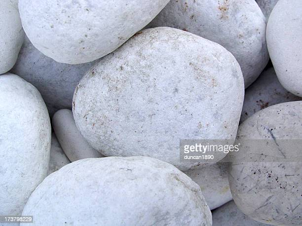 Background White Stones