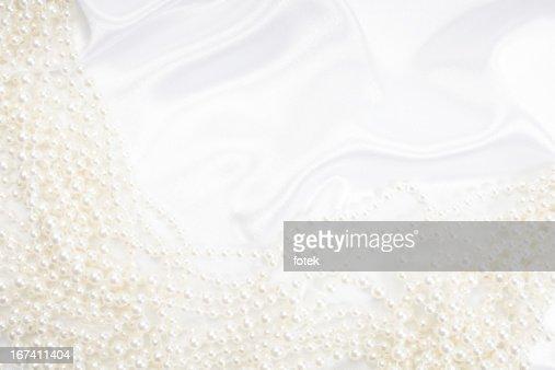 Sfondo con perle : Foto stock