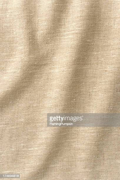 Background - Wrinkled Linen with lots of Texture, Full Frame.