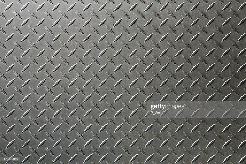 background: XL diamond plate