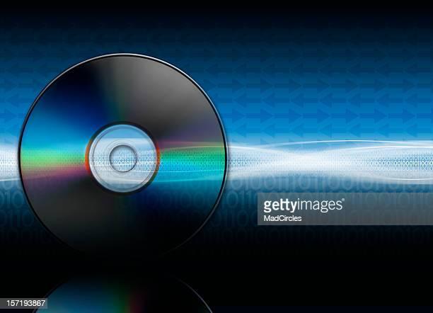 DVD CD  background - XXXL