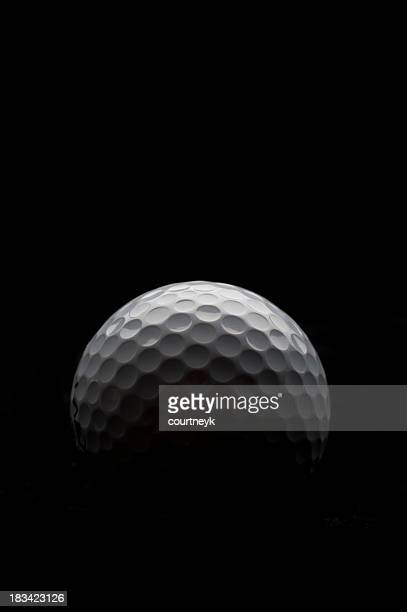 Backlit golf ball