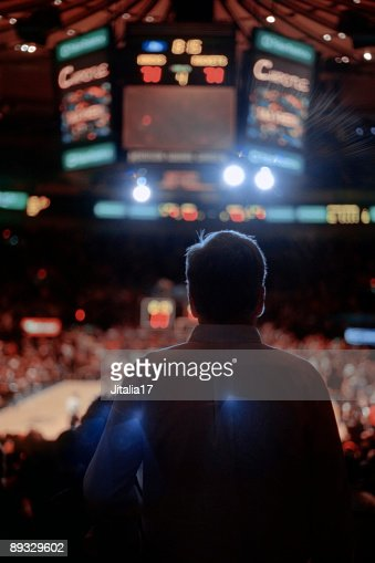 Sporting Event Spectator - Madison Square Garden