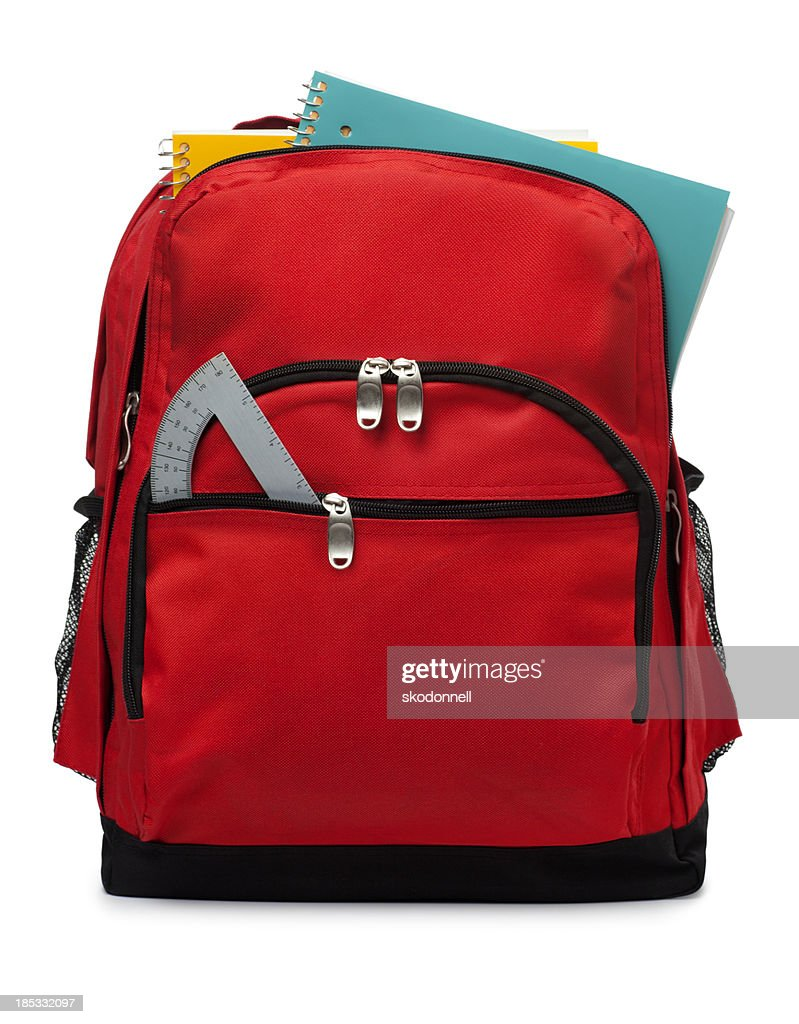 Backpack Isolated on a White Background : Stock Photo