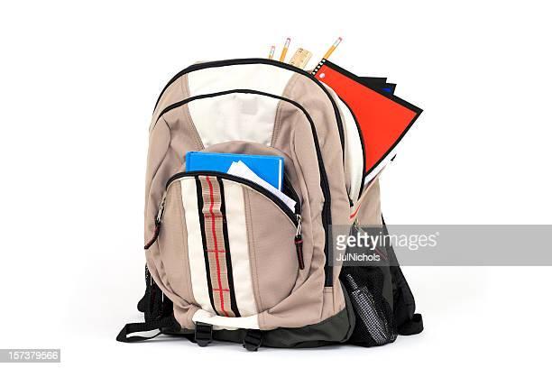 Rucksack mit Schulsachen