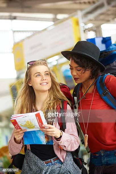 Campeggio gli amici in terminal