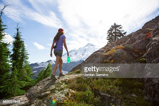 Backpacking in the Cascade Mountains
