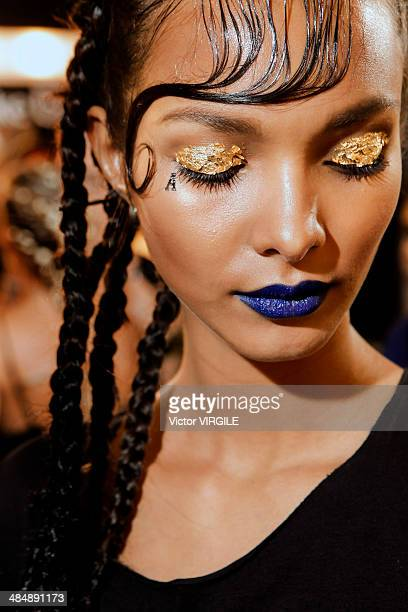 Backstage and atmosphere during the Auslander Fashion show at Rio de Janeiro Fashion Week Spring Summer 2014/2015 on April 8 2014 in Rio de Janeiro...