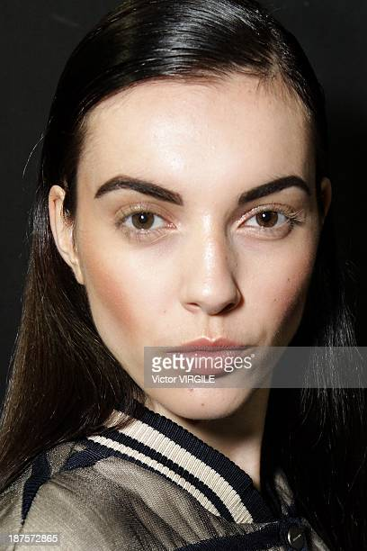 Backstage and atmosphere during the Coven show as part of the Rio de Janeiro Fashion Week Fall/Winter 2014 on November 8 2013 in Rio de Janeiro Brazil