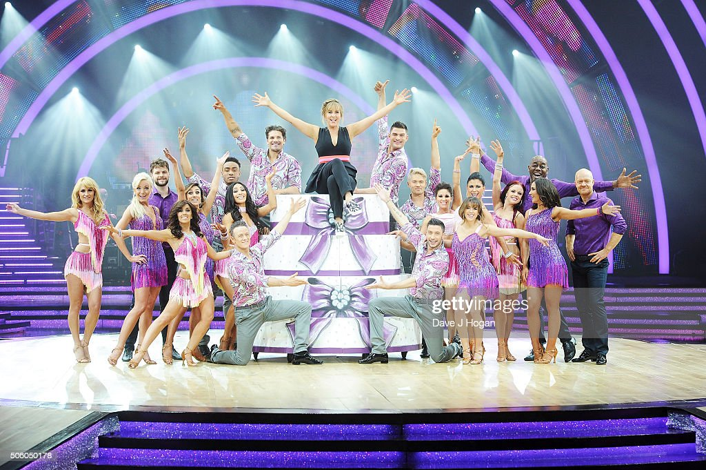 backstage at the Strictly Come Dancing Live Tour rehearsals Strictly Come Dancing Live Tour opens tomorrow 22nd January at the Barclaycard Arena in...
