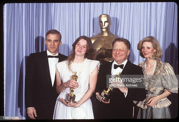 March 31 1981 BEST CINEMATOGRAPHY WINNERS FOR 'TESS' GHISLAIN CLOQUET AND JACKIE UNSWORTH WHO