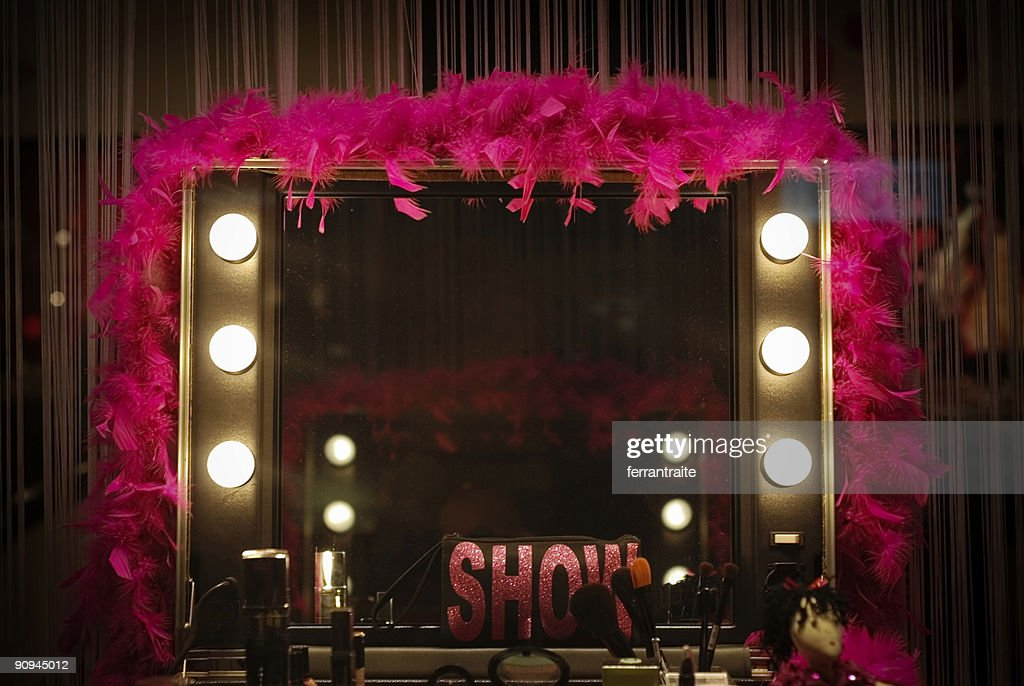 Backstage mirror