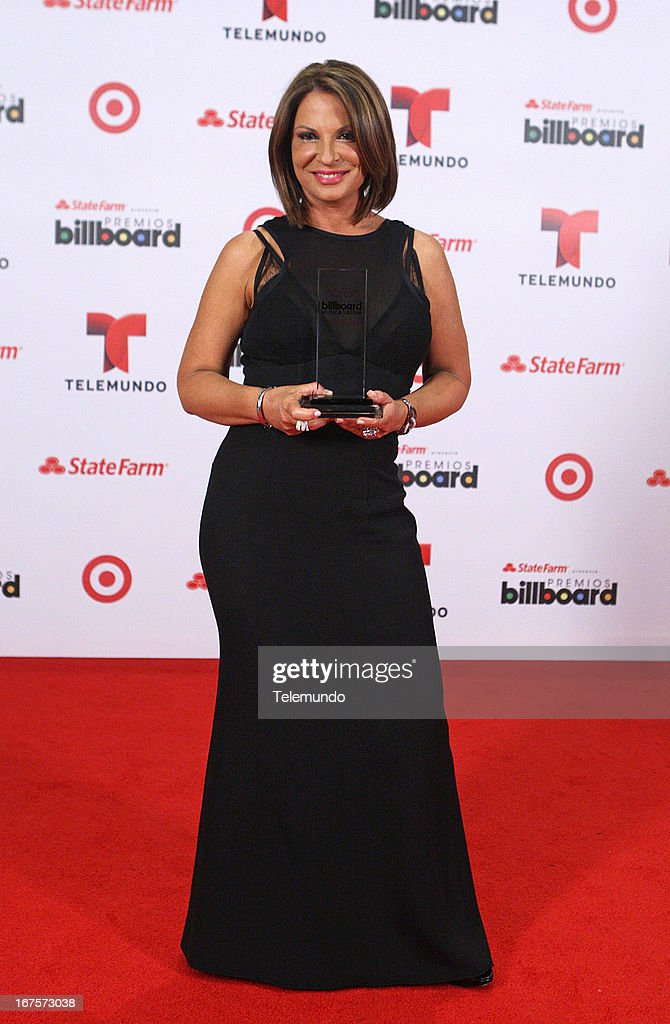 Ana Maria Polo backstage during the 2013 Billboard Latin Music Awards held at the BankUnited Center, University of Miami in Miami, Florida on April 25, 2013 --