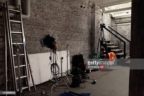 Backstage room