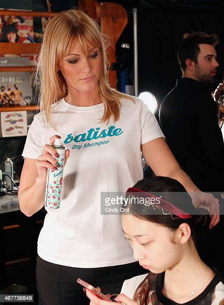 Backstage with Batiste Dry Shampoo at the Charlotte Ronson Fall 2014 Presentation during MercedesBenz Fashion Week at The Hub at The Hudson Hotel on...