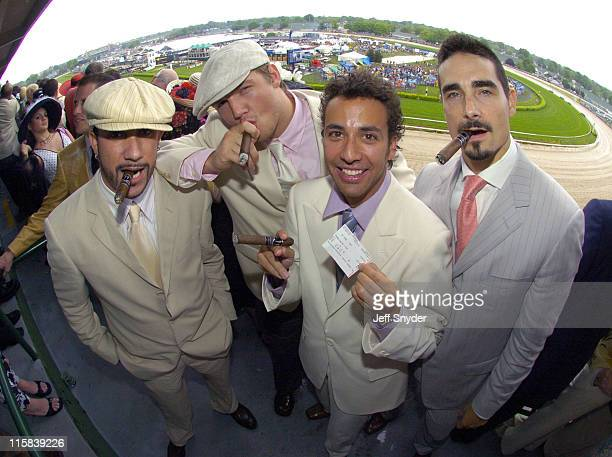 EXCLUSIVE Backstreet Boys AJ McLean Nick Carter Howie Dorough and Kevin Richardson