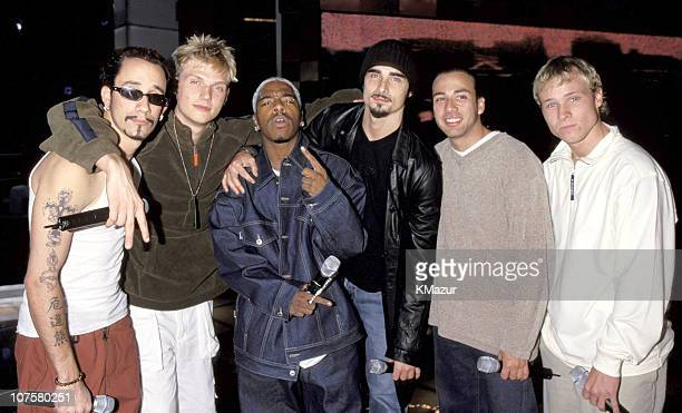 Backstreet Boys and Sisqo during VH1 Men Strike Back at Madison Square Garden in New York City New York United States