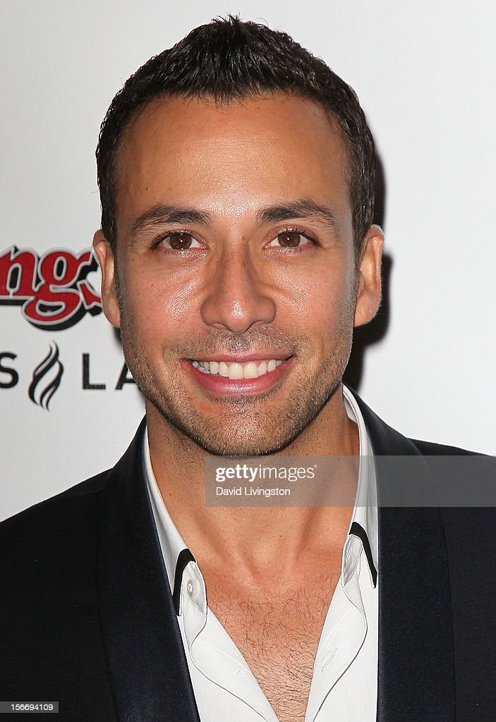 Backstreet Boys member <a gi-track='captionPersonalityLinkClicked' href=/galleries/search?phrase=Howie+Dorough&family=editorial&specificpeople=204770 ng-click='$event.stopPropagation()'>Howie Dorough</a> attends Rolling Stone Magazine's 2012 American Music Awards (AMAs) VIP After Party presented by Nokia and Rdio at the Rolling Stone Restaurant and Lounge on November 18, 2012 in Los Angeles, California.