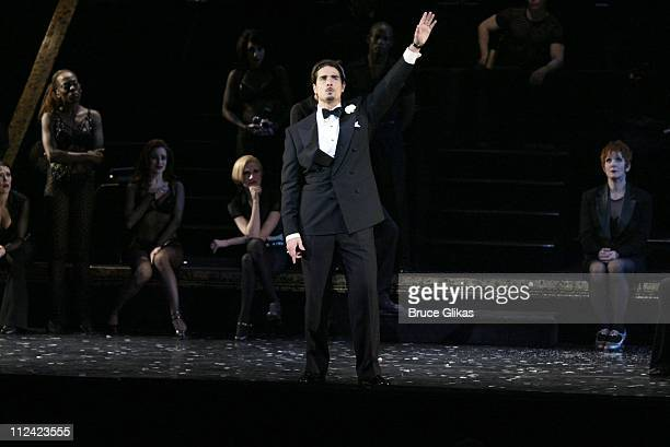 Backstreet Boys member Kevin Richardson makes his Broadway Debut in 'Chicago' as 'Billy Flynn' on Broadway at the Shubert Theatre on January 20 2003