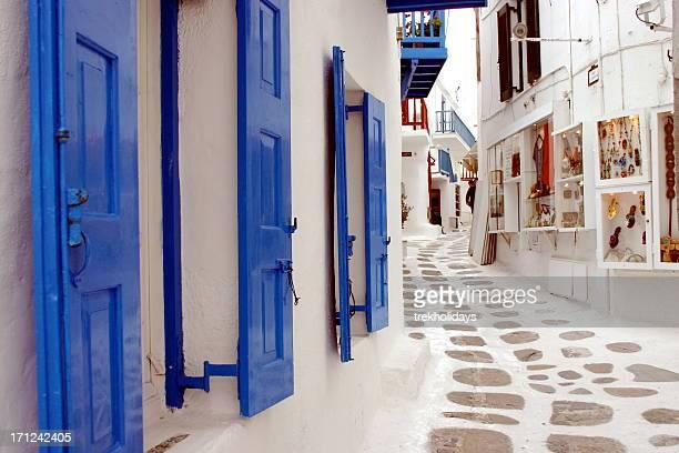 Backstreets of Mykonos