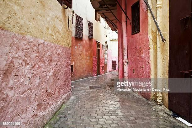 Backstreets of Tangier medina