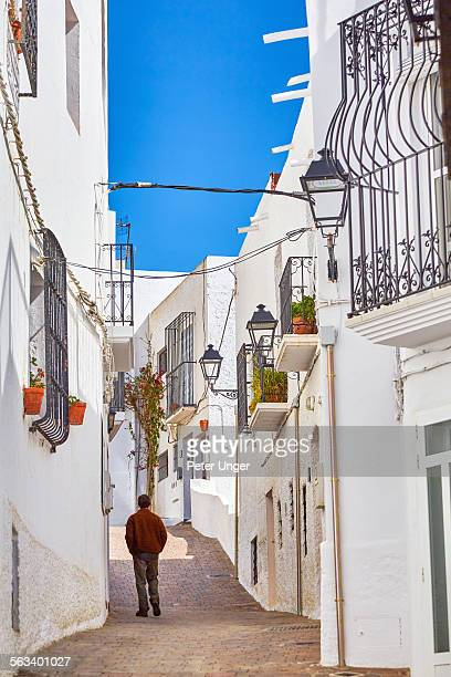 Backstreets of the town of Mojacar