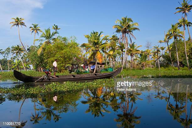 Backwaters, Alappuzha or Alleppey, Kerala, India