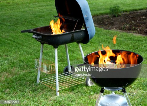 backyard barbecue bataille photo getty images