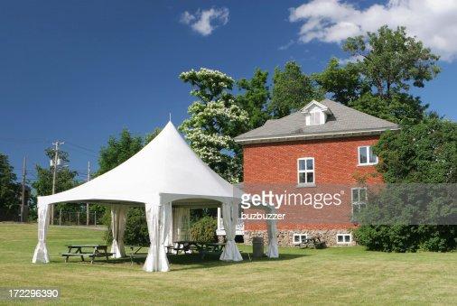 Backyard Celebration Tent