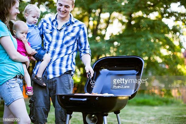 Backyard Charcoal BBQ