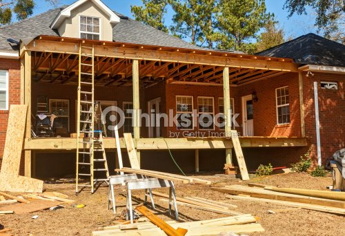 Jardin terrasse de reconstruction photo thinkstock for Patio et galerie