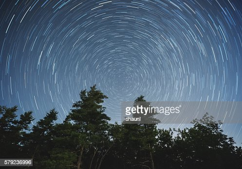 Backyard Star Trails