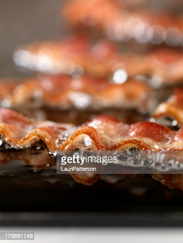 Bacon Frying on the Grill