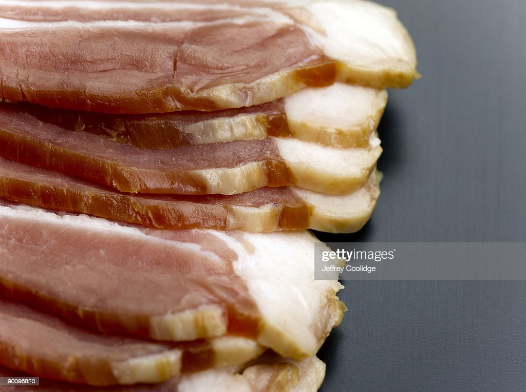 Bacon Strips : Stock Photo