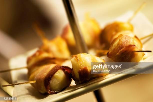 Bacon enveloppé de Saint-Jacques