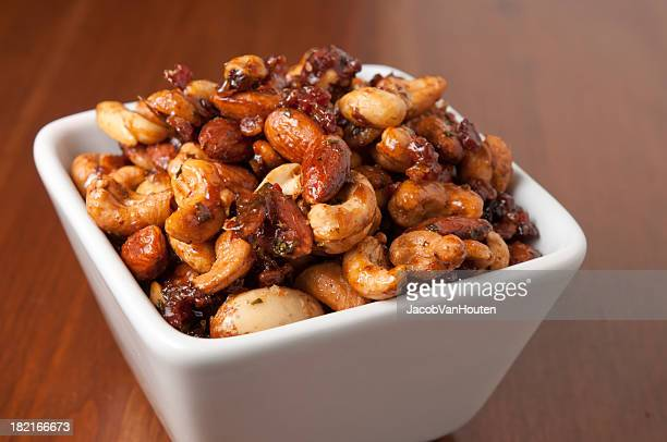 Bacon-Maple Spiced Nuts