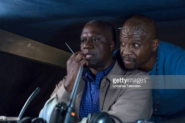 NINE 'Bad Beat' Episode 505 Pictured Andre Braugher as Ray Holt Terry Crews as Terry Jeffords