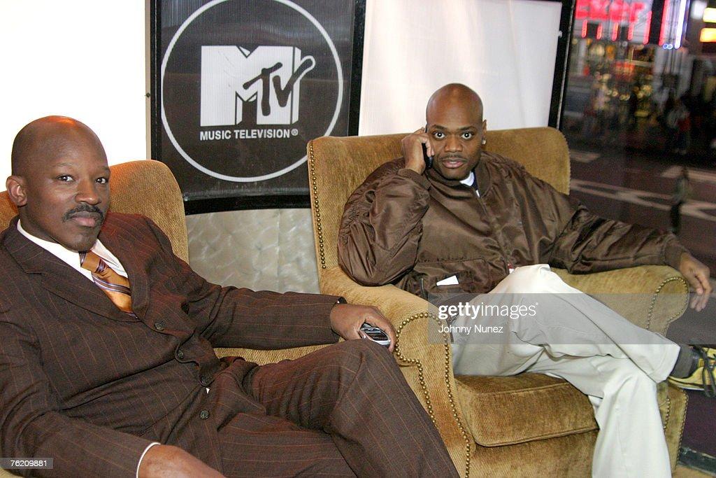 Bad Boys' Hiram Hicks and Phil Robinson